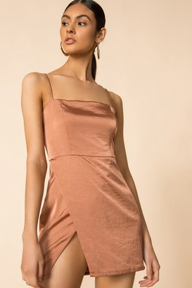 superdown Gianna Slit Mini Dress
