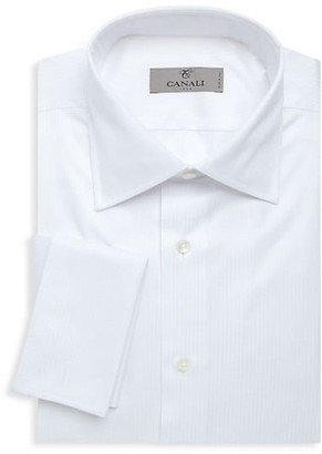 Canali Regular-Fit French Cuff Dress Shirt