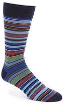 Daniel Cremieux Multi Stripe Crew Socks