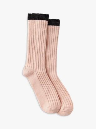 Mint Velvet Rib Knit Socks