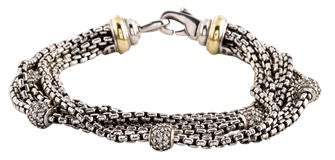David Yurman Diamond Multistrand Bracelet