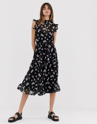 Levete Room sleeveless floral maxi dress