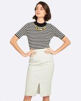Oxford Ella Striped Knit