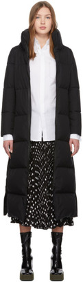 Herno Black Windstopper Maxi Coat