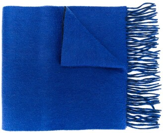 N.Peal Doubleface Woven Cashmere Scarf