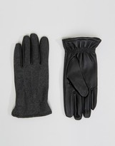 Selected Homme Gloves Leather