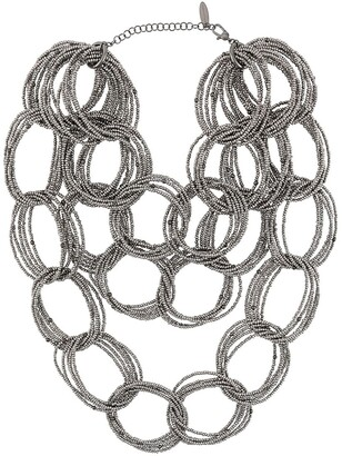 Brunello Cucinelli Chunky Bead-Chain Necklace
