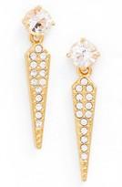 Nadri Women's Gwen Crystal Drop Earrings