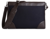 Brooks Brothers Flannel Slim Briefcase
