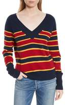Equipment Dorothy Stripe Cashmere Sweater