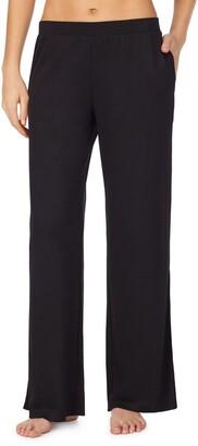REFINERY29 Slit Wide Leg Double Knit Pajama Bottoms