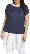 Nic+Zoe Plus Size Women's Everyday Tissue Weight Tee