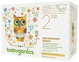 BabyGanics Ultra Absorbent Diapers Value Pack (Select Size)