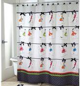 Avanti Couture Girls Shower Curtain