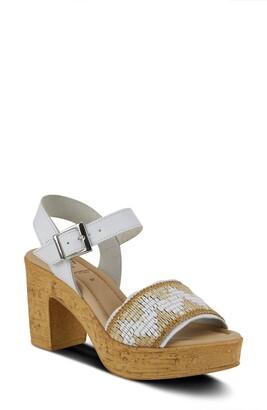 Spring Step Tiada Platform Sandal