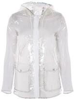 Topshop Transparent Raincoat Mac