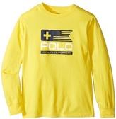 Polo Ralph Lauren Basic Jersey Graphic T-Shirt (Little Kids/Big Kids)