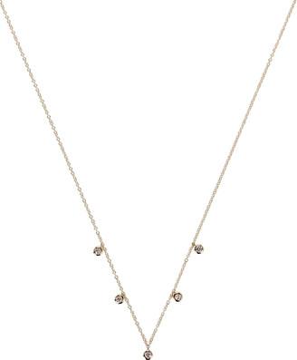 Ef Collection Five Diamond Bezel Choker