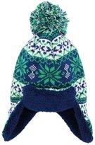 iXtreme Little Boys Sherpa Lined Winter Trapper Ear Flap Hat Fair Isle