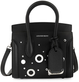 Alexander McQueen Mini Studded Leather Satchel