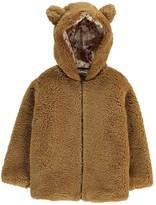 Babe & Tess Faux Fur Bear Cub Coat