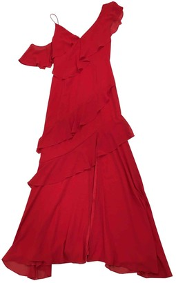 Keepsake Red Synthetic Dresses