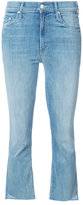Mother cropped jeans - women - Cotton/Polyester/Spandex/Elastane - 24