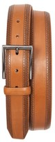 Tommy Bahama Men's Perforated Leather Belt
