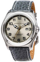 Perry Ellis Memphis Grey Leather Watch