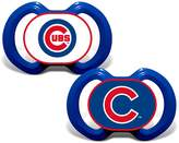 Baby Fanatic Pacifier (2 Pack) - Chicago Cubs