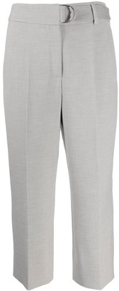 Akris Punto Pleated Cropped Trousers