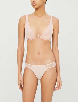 An Angel Kiss mesh bikini briefs