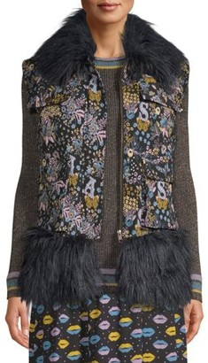 Anna Sui Sui By Women's Autumn Tapestry Vest