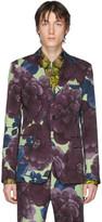 Dries Van Noten Multicolor Wool Floral Blazer