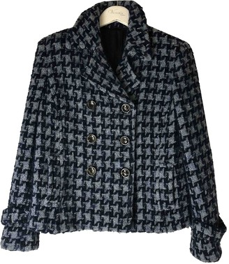 Max Mara Weekend Blue Wool Coat for Women