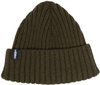 MACKINTOSH KEMET ribbed beanie