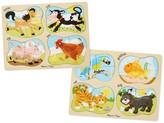 Melissa & Doug 4-in-1 Peg Puzzle Bundle - Pets & Farm