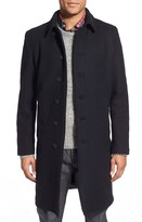 Schott NYC Wool Blend Officer's Coat