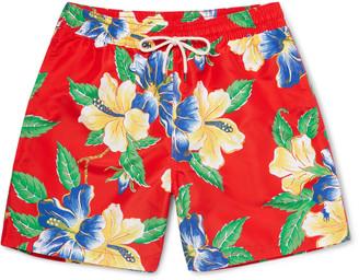 Polo Ralph Lauren Traveler Mid-Length Floral-Print Swim Shorts