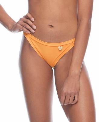 Body Glove Women's Connor Solid Cheeky Coverage Bikini Bottom Swimsuit