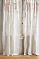 Anthropologie Linear Sequin Curtain