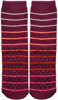 Sockbin Womens Gripper Socks, Non-Skid Soles, Soft Cotton Slipper Socks, 1Pair Blue