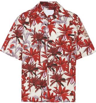 Prada Palm Tree-Printed Shirt