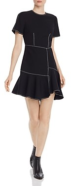 Cinq à Sept Azure Asymmetric Dress
