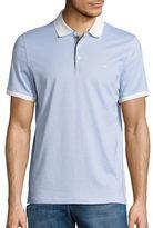Michael Kors Patterned Polo Shirt