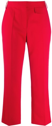 Victoria Beckham Cropped Tailored Trousers