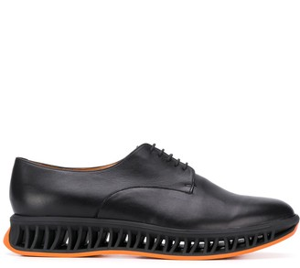 Clergerie Maka caged-midsole derby shoes