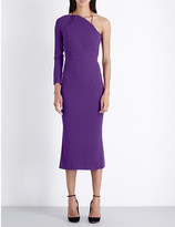 Roland Mouret One shoulder crepe dress