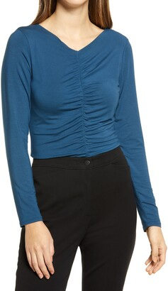 Halogen Ruched Top