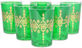Found Object S/6 Souad Moroccan Glasses, Green